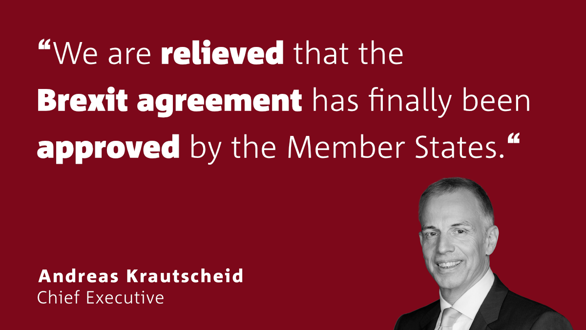 Krautscheid: Agreement finally provides the basis for future economic relations