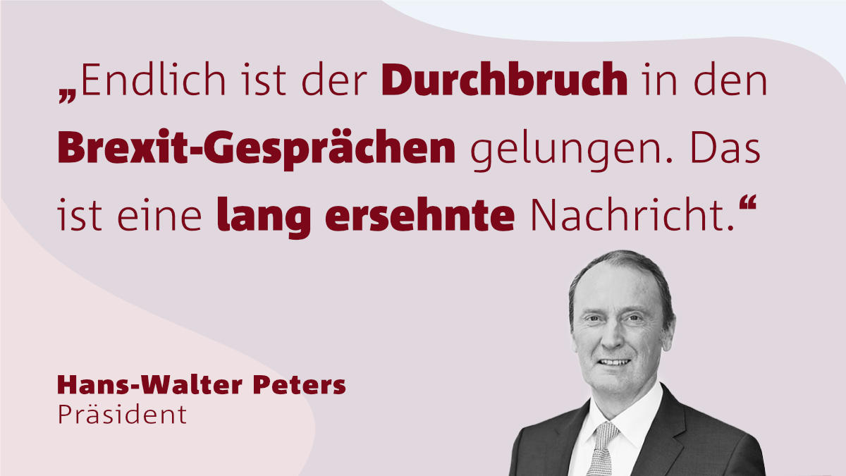 Peters zu Brexit