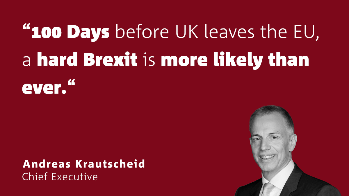 Krautscheid: 100 days before Brexit - crisis mode becoming the norm
