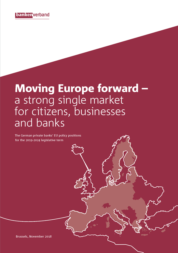 Moving Europe forward – a strong single market for citizens, businesses and banks